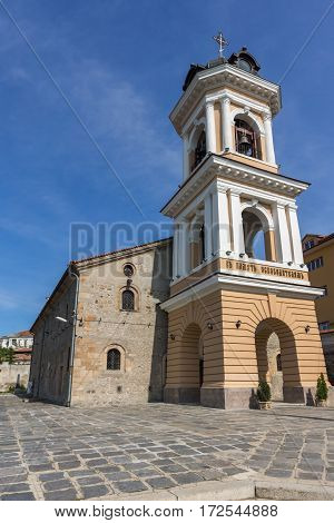 The Virgin Mary Church in old town of Plovdiv, Bulgaria