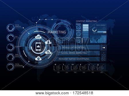 Innovative networking interface . Mixed media
