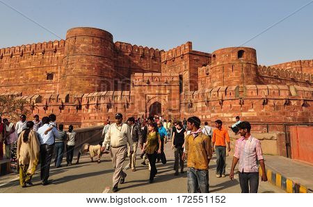 Agra Fort In Jaipur, India