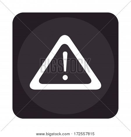 alert symbol isolated icon vector illustration design