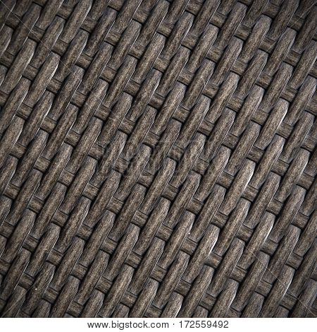 Wicker or rattan bamboo material for background