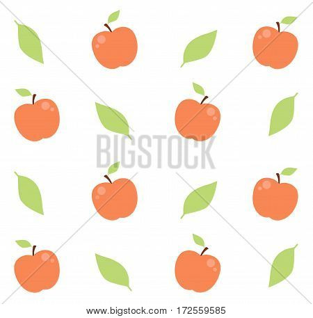 Seamless vector pattern. Catoon background. Stock Illustration