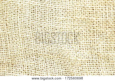 Natural brown sackcloth canvas textured for background.
