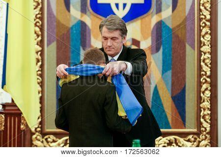 Viktor Yushchenko - The Third President Of Ukraine (2005 To 2010)