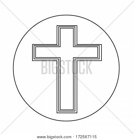an images of Or pictogram Religion cross icon