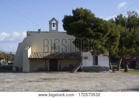 Quartu: Architecture of the Church of St. Andrew - Sardinia