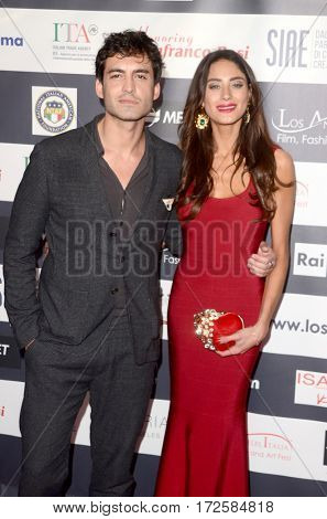LOS ANGELES - FEB 19:  Francesco Bauco, Julia Lupetti at the Los Angeles Italia Film Festival at the TCL Chinese 6 Theaters on February 19, 2017 in Los Angeles, CA