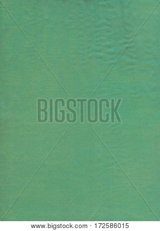 Abstract green silk fabric texture. Green silk fabric background