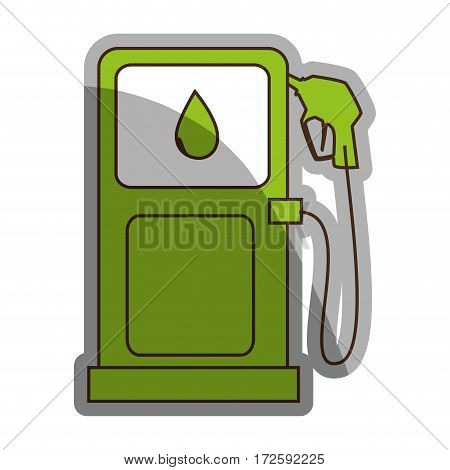 station service fuel isolated icon vector illustration design
