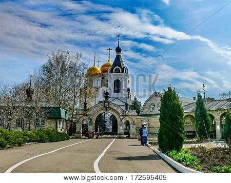 Monastery Of The Holy Dormition Monastery, The Appearance Of The