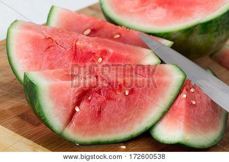 Watermelon slice. watermelon  sweet juicy, fruit, melon