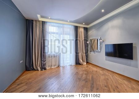 elegant design of window curtains and blinds