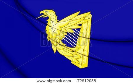 Ireland_eagle_harp_flag