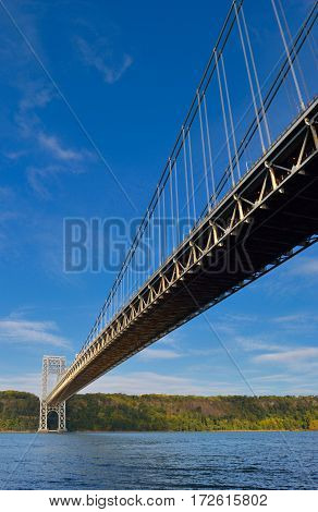 George Washington Bridge in New York City.