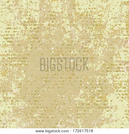 Light brown spotted grunge background. Vintage vector background