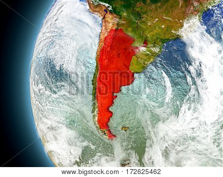 Argentina On Planet Earth From Space