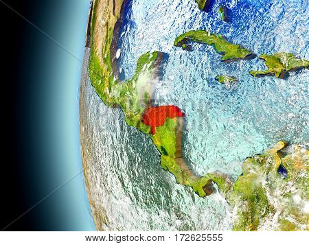 Honduras On Planet Earth From Space