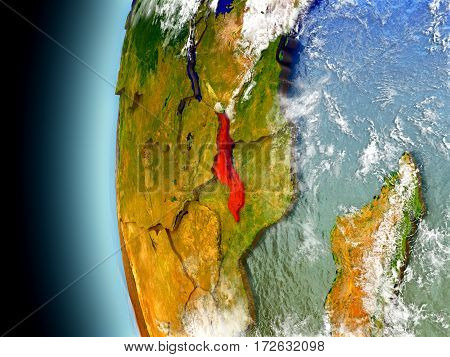 Malawi On Planet Earth From Space