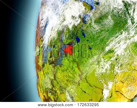 Estonia On Planet Earth From Space