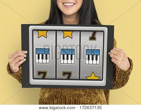 Slot Machine Game Music Symbols