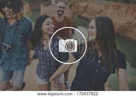 Camera Photography Authorization Graphic Icon Symbol Sign
