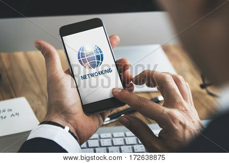 Internet Network Technology Global Icon