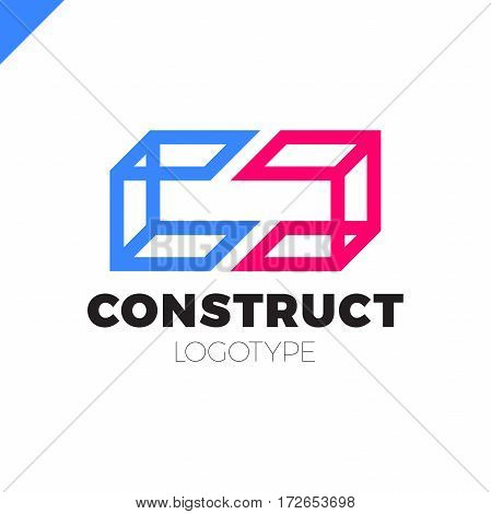 Double Or Two Letter C Logo Icon Design Template Elements In 3D Style