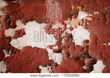 Old paint rust texture. Rusty paint background with streaks of rust. You can apply for rust background rust backdrop and everything about rust background concept.
