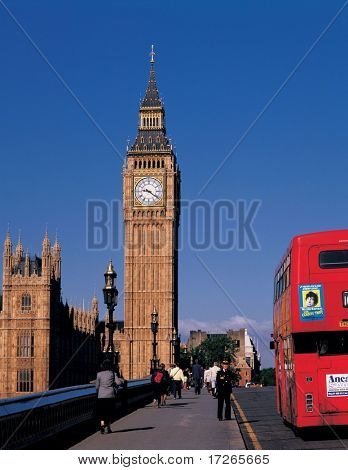 Scene of England Big Ben