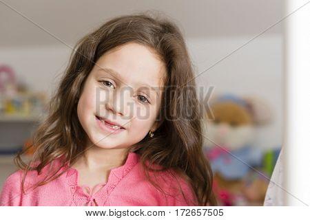 Seven years girl