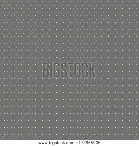 Seamless geometric vector golden pattern. Modern ornament with dotted elements. Geometric abstract pattern