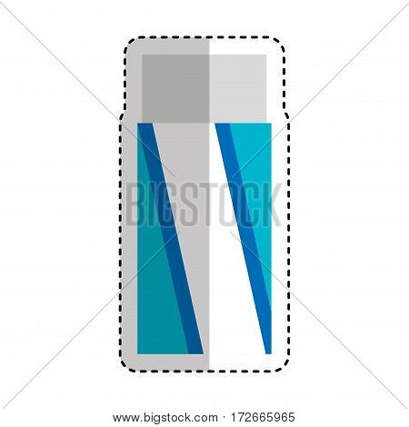 eraser school supply icon vector illustration design