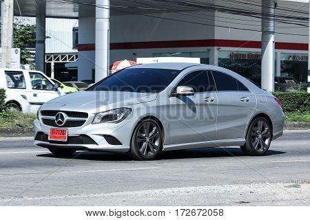 Luxury Car, Silver Mercedes  Cla 180 Untamed.