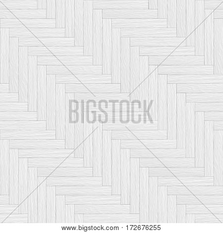White Wooden Parquet Seamless Texture