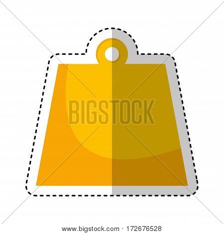 kg weight isolated icon vector illustration design