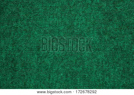 dark green wool carpet cloth texture for design and background. Floor and home decoration.