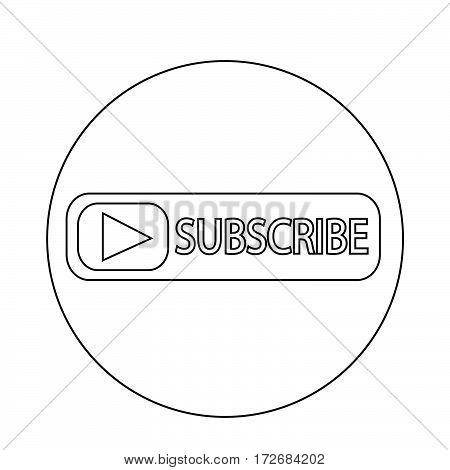 an images of Or pictogram Subscribe icon