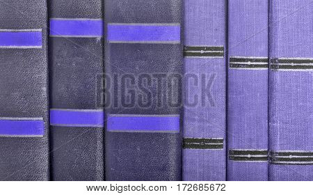 background from old books spines