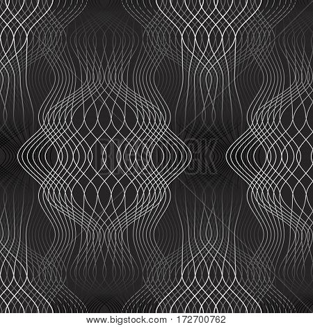 Seamless guilloche backgrounds for design security papers