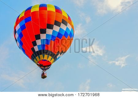 A balloon is a flexible bag that can be inflated with a gas such as helium hydrogen nitrous oxide oxygen or air.