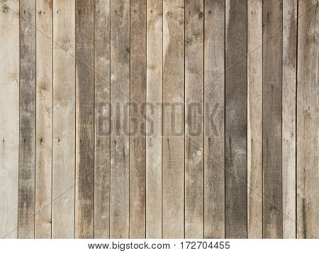 Wooden planks pattern as background in different shades of brown