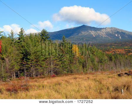 Mount Katahdin - Autumn In Maine