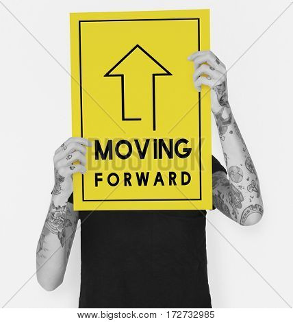 Moving Forward Aspirations Goals Target Ahead