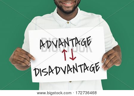 Advantage Disadvantage Opposite Difference Situation