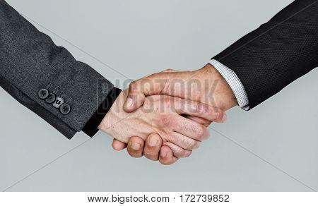 Human Hands Handshake Business Corporate Concept