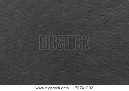 texture and background of rough fabric or cotton material of black color