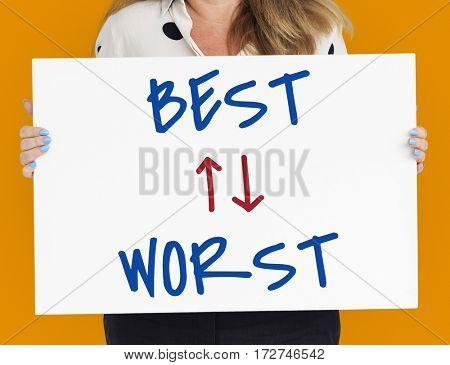 Best Worst Positive Negative opposite