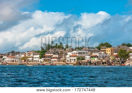 Lamu Old Town Waterfront, Kenya, Unesco World Heritage Site