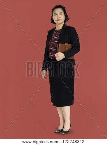 Asian Lady Posture Professional