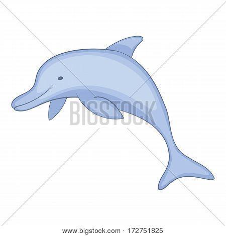 Dolphin icon. Cartoon illustration of dolphin vector icon for web